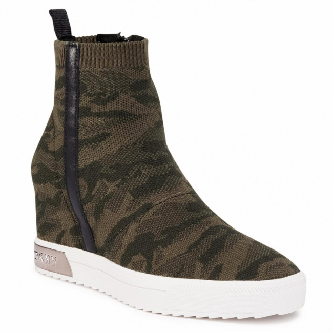 Sneakersy DKNY - Cali K3033337 Act Milt Gn