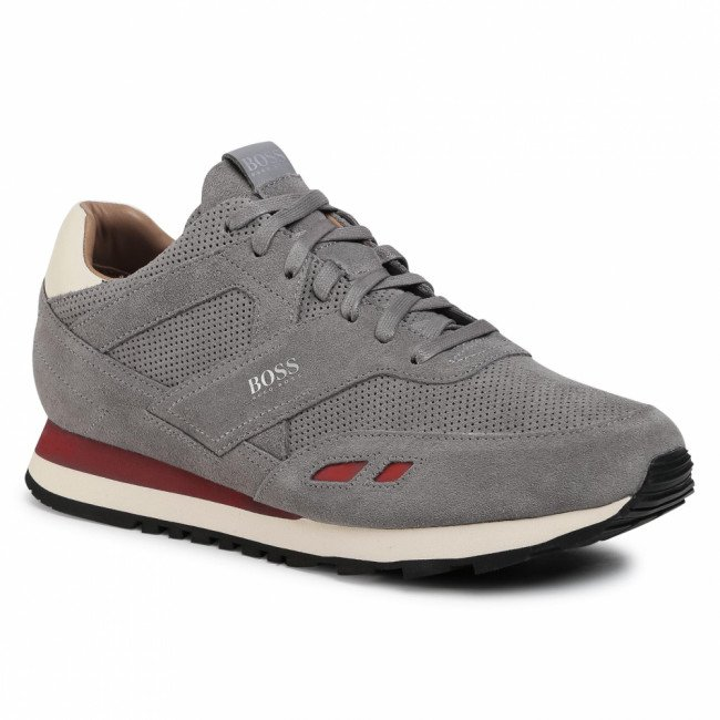 Sneakersy BOSS - Parkour 50439539 10214574 01 Medium Grey
