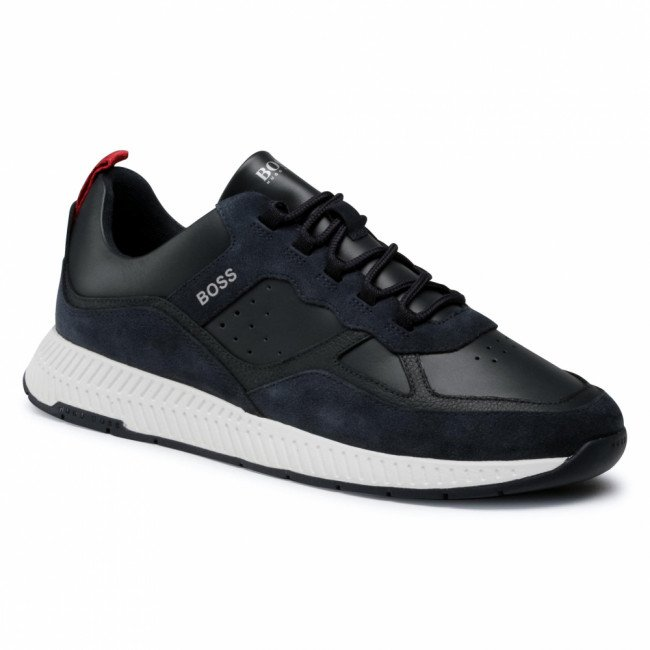 Sneakersy BOSS - Titanium 50440763 10214595 01 Dark Blue 407