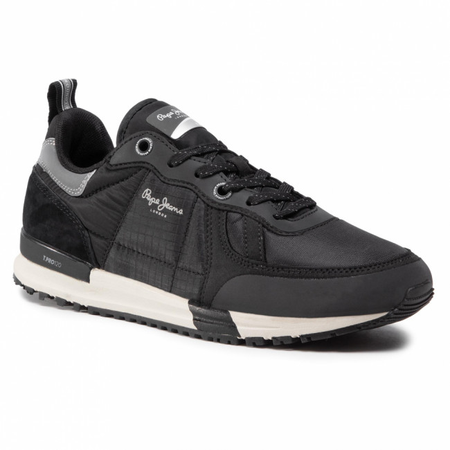 Sneakersy PEPE JEANS - Tinker Pro Sup. 20 PMS30651 Black 999