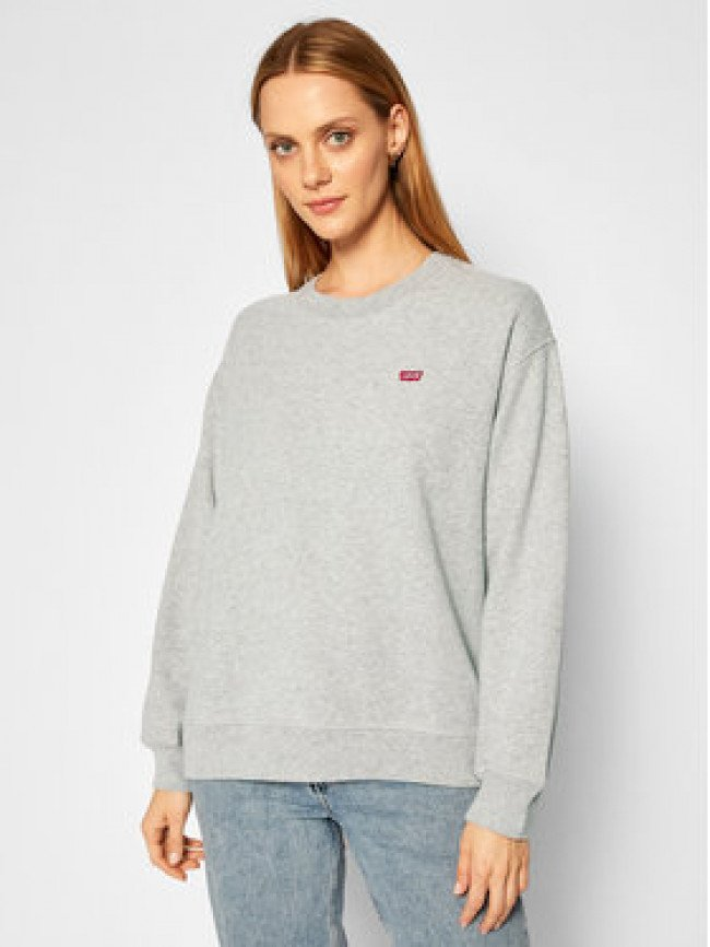 Levi's® Mikina Standard Crewneck 24688-0000 Sivá Relaxed Fit