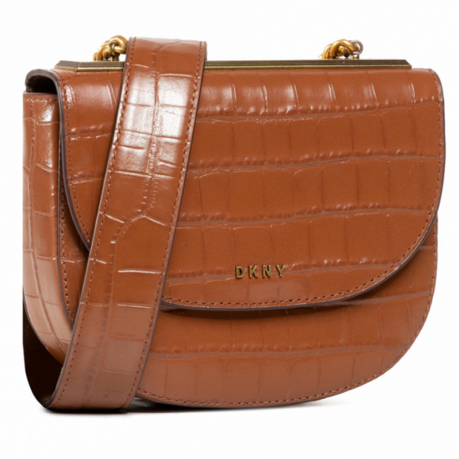 Kabelka DKNY - Cooper Chain Saddle R03EPJ72  Caramel CAR