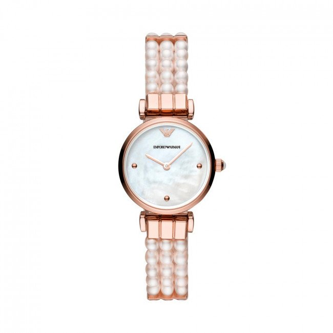 Hodinky EMPORIO ARMANI - Gianni T-Bar AR11317 Rose Gold
