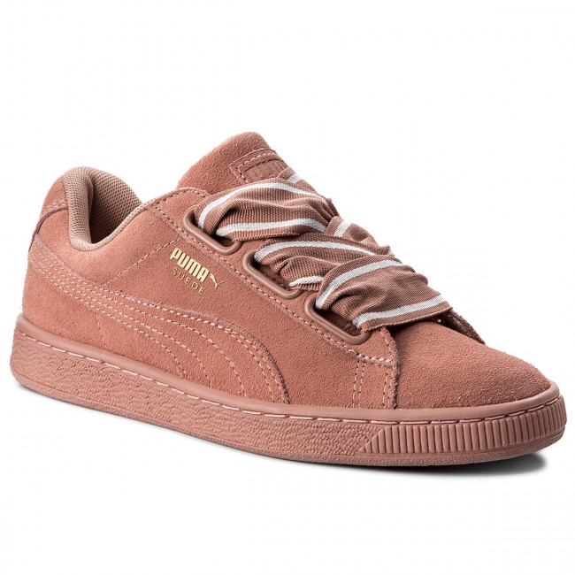 Sneakersy PUMA - Suede Heart Satin II 364084 03 Cameo Brwon/Cameo Brown