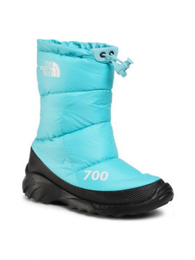 The North Face Snehule Nuptse Bootie 700 NF0A4OAYVDE1 Modrá