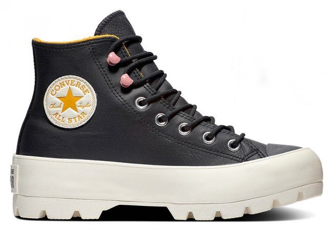 Converse gore-tex kožené tenisky na platforme Chuck Taylor All Star Lugged Winter
