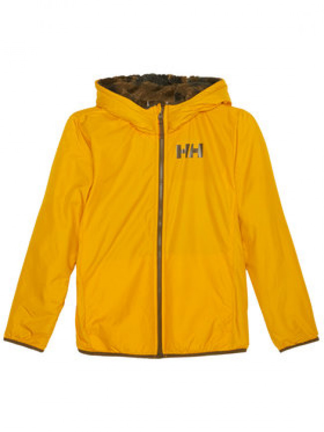 Helly Hansen Zimná bunda Junior Champ Reversible 41736 Žltá Regular Fit