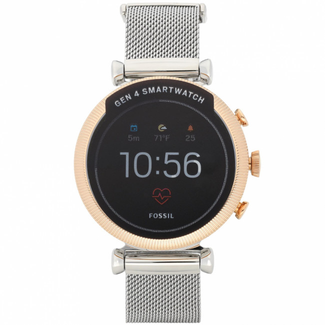 Smart hodinky FOSSIL - Sloan HR FTW6043 Silver/Gold