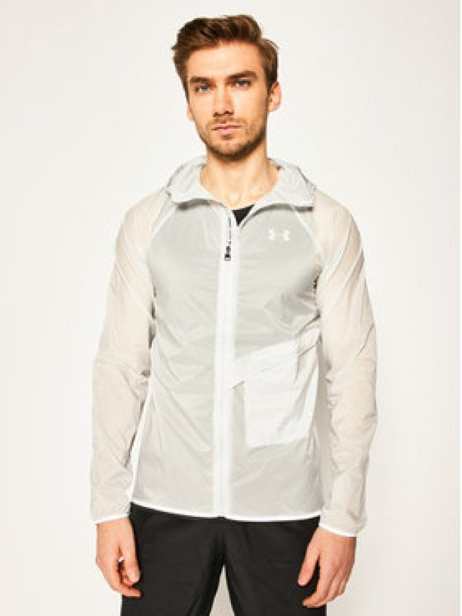 Under Armour Vetrovka Qualifier Storm Packable 1326597 Sivá Regular Fit