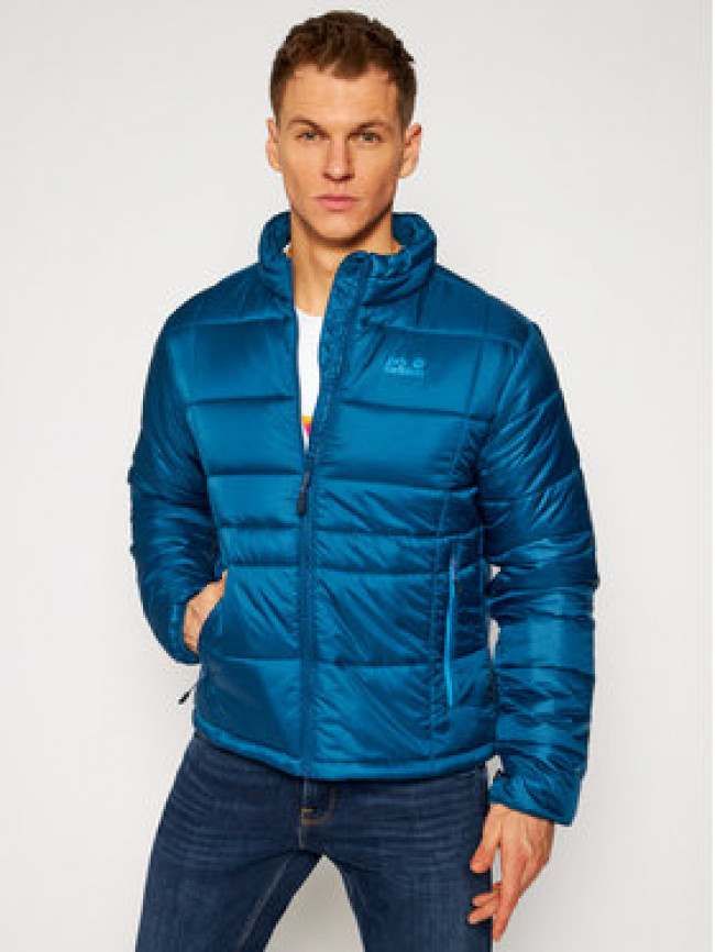 Jack Wolfskin Vatovaná bunda Argon 1204882 Modrá Regular Fit