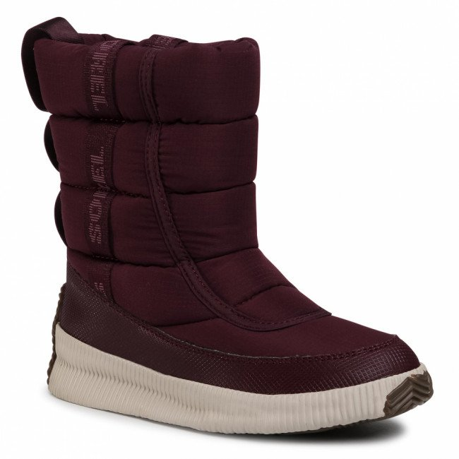 Snehule SOREL - Out N About Puffy Mid NL3804 Epic Plum 543
