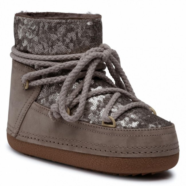 Topánky INUIKII - Sequin 70101-009 Taupe