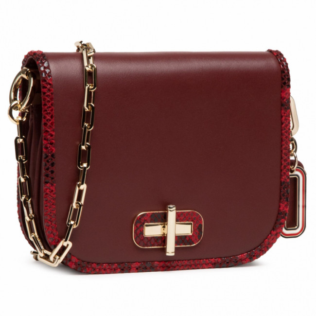 Kabelka TOMMY HILFIGER - Leather Statement Sm Crossover AW0AW09083 VLP