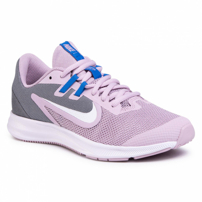Topánky NIKE - Downshifter  9 (Gs) AR4135 510 Iced Lilac/White/Smoke Grey