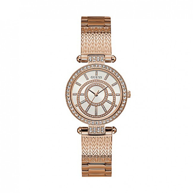 Hodinky GUESS - Muse W1008L3 GOLD/GOLD