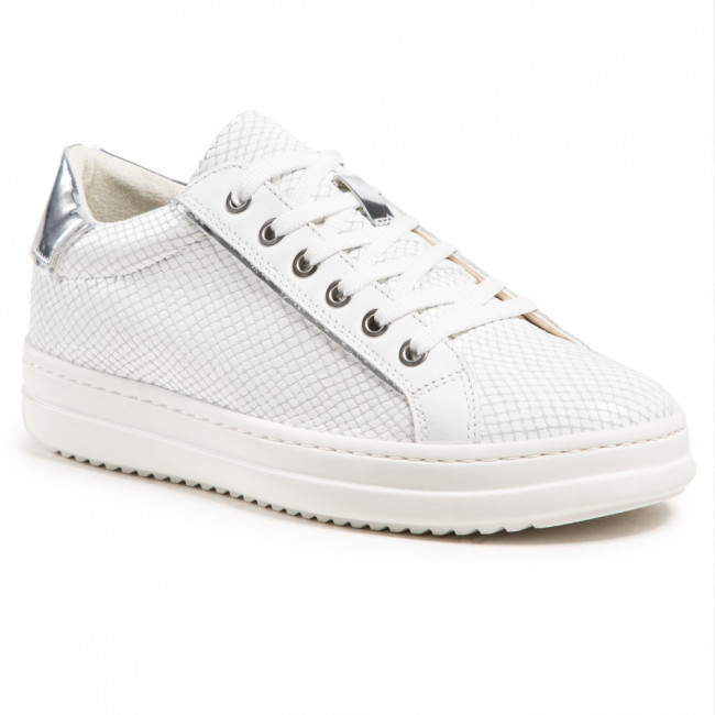 Sneakersy GEOX - D Pontoise D D15FED 041BN C0007 White/Silver