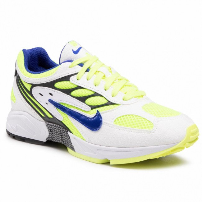Topánky NIKE - Air Ghost Racer  AT5410 103 White/Hyper Blue/Neon