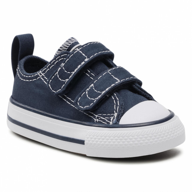 Tramky CONVERSE - Ct 2V Ox 711357 Athletic Navy/Whit