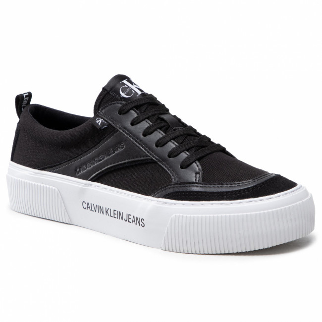 Tenisky CALVIN KLEIN JEANS - Vulcanized Skate Lace Up YM0YM00080 BDS