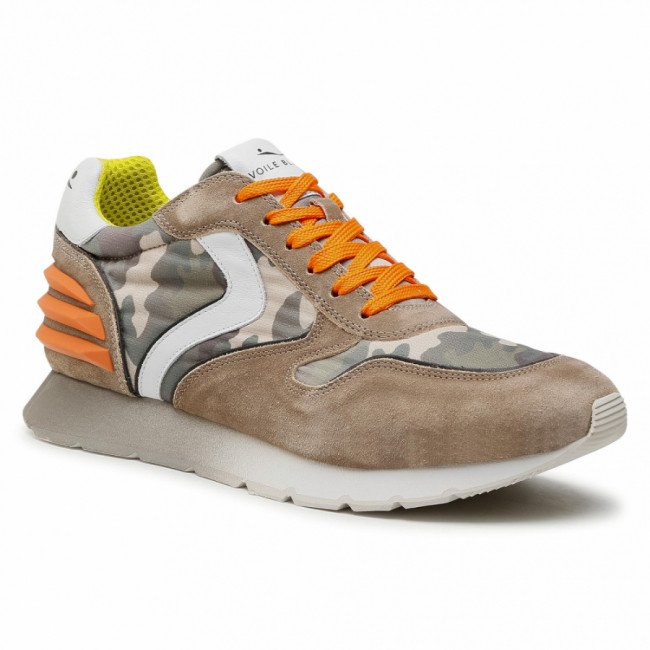 Sneakersy VOILE BLANCHE - Liam Power 0012015677.02.1D02 Taupe/Camo