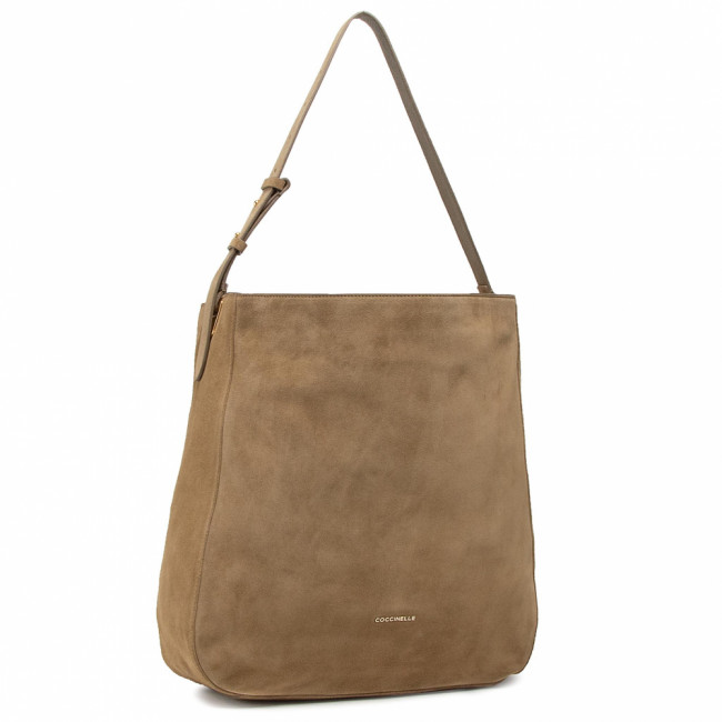 Kabelka COCCINELLE - H62 Lea Suede E1 H62 13 02 01 Moss Green G63