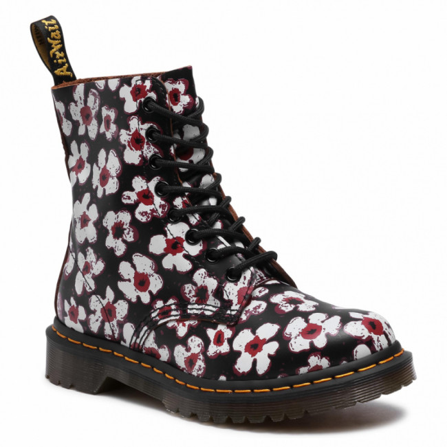 Glady DR. MARTENS - 1460 Pascal 26456002 Black/Red