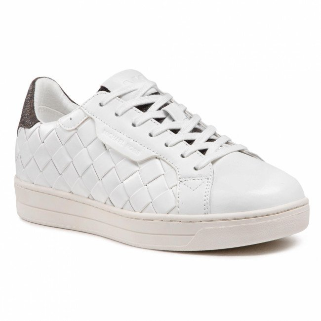 Sneakersy MICHAEL MICHAEL KORS - Keating Lace Up 43S1KEFS3L Wht/Brown