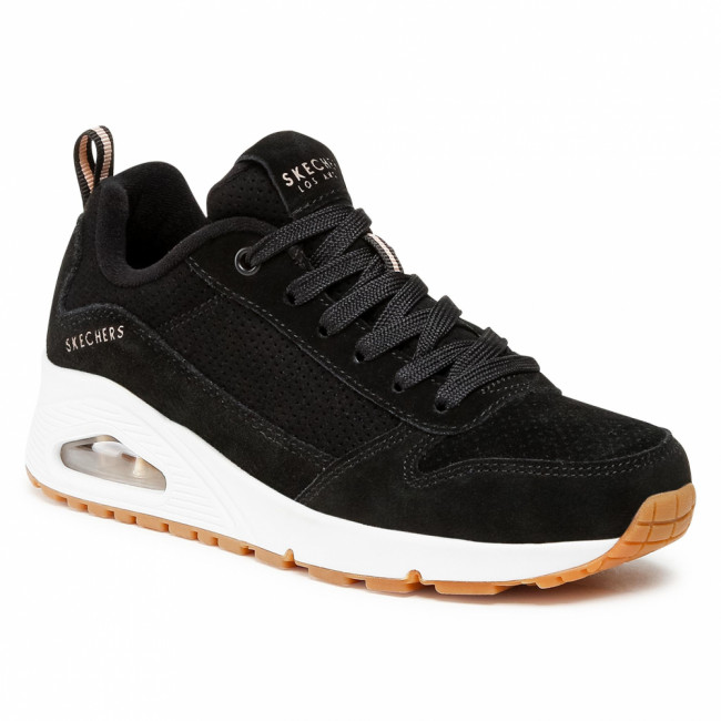 Sneakersy SKECHERS - Two For The Show 73672/BLK Black