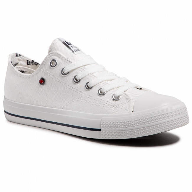 Tramky LEE COOPER - LCW-21-31-0315M White