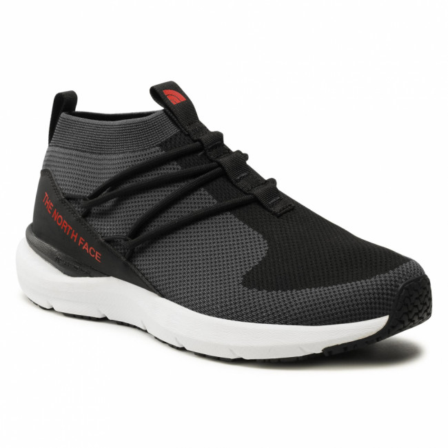 Sneakersy THE NORTH FACE - Sumida Moc Knit NF0A46A1NAK1 Tnf Black/High Risk Red