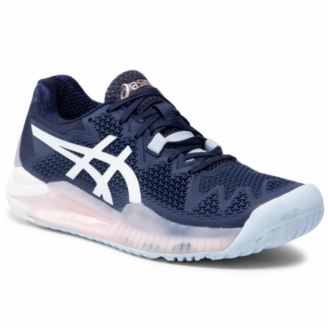 Topánky ASICS - Gel-Resolution 8 1042A072 Peacoat/White 401