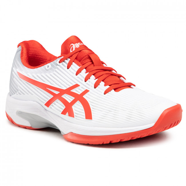 Topánky ASICS - Solution Speed Ff 1042A002 White/Fiery Red 104