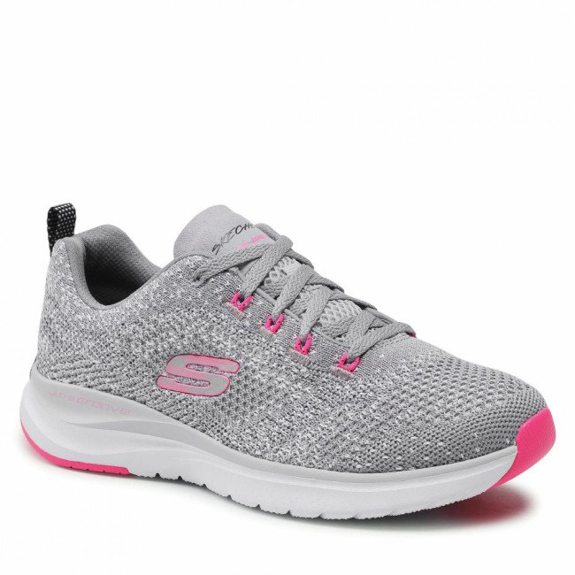 Topánky SKECHERS - Ultra Groove 149019/GYHP Gray/Hot Pink