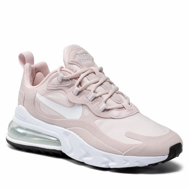 Topánky NIKE - W Air Max 270 React CT1287 600 Barely Rose/White/Black