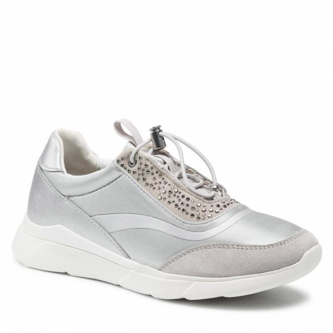 Sneakersy GEOX - D Hiver D D15FHD 01522 C0898 Silver/Lt Grey