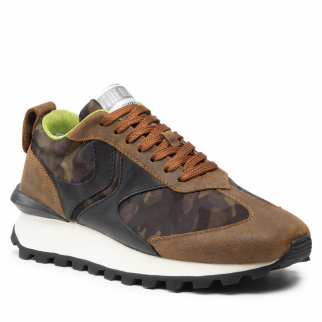 Sneakersy VOILE BLANCHE - Qwark Man 0012016270.11.1D70 Army/Camouflage