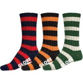 Globe Thin Stripe Boots Deluxe 3Pack 2013