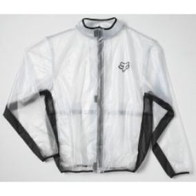 Fox Mx Fluid Jacket Clear, transparentný