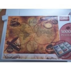 Trefl Puzzle World map II 3000 dielov