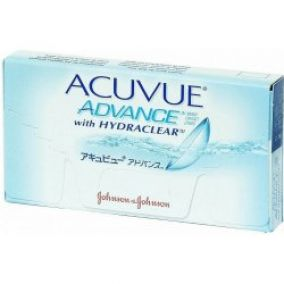 Johnson & Johnson Acuvue Advance 6 šošoviek