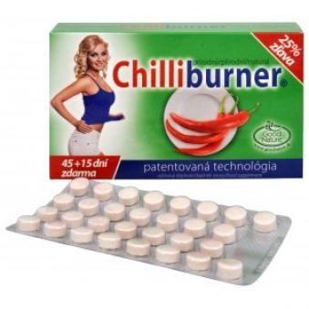 Good Nature Chilliburner 45 tbl. + 15 tbl. ZADARMO