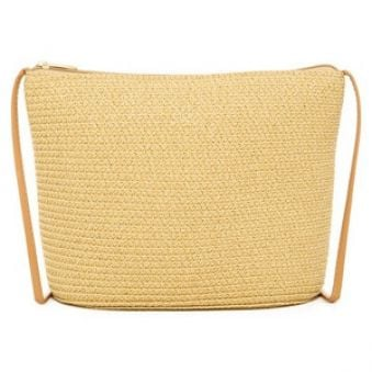 Magid Crossbody taška Paper Straw Crossbody Nature