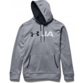 Under Armour Graphic Hoody Mens Grey