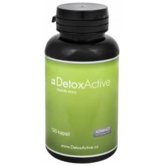 Advance nutraceutics DetoxActive 120 kapslí AKCE +