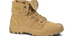 Palladium Boots Pallabrouse Baggy Honey Mustard W