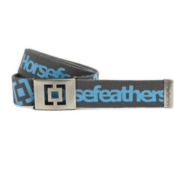 Horsefeathers Opasok Icon Belt Gray AA627O AKCE