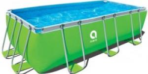 JILONG Frame Pool Passaat Green 400 x 200 x 99 cm