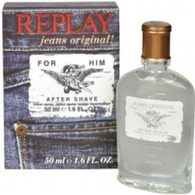 Replay Jeans Original! for Him voda po holení 50