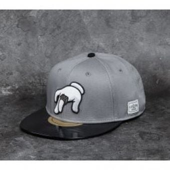 Cayler & Sons White Label No Requests Grey/Black/Multicolor Snapback šedá / červená / černá