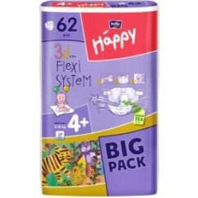 Bella Baby Happy Maxi Plus Big Pack 62 ks